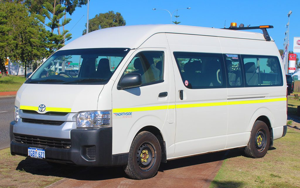 Toyota HiAce 12 Seater Bus