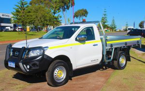 Nissan Navara 4WD single cab ute