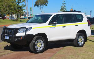 Toyota land cruiser prado 4x4 mine spec