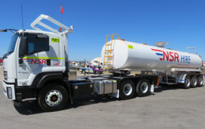 Water tanker for hire in WA